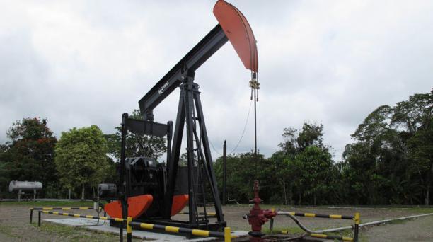 Este es el primer pozo de petroleo ubicado en Lago Agrio. Foto: Archivo/El Comercio