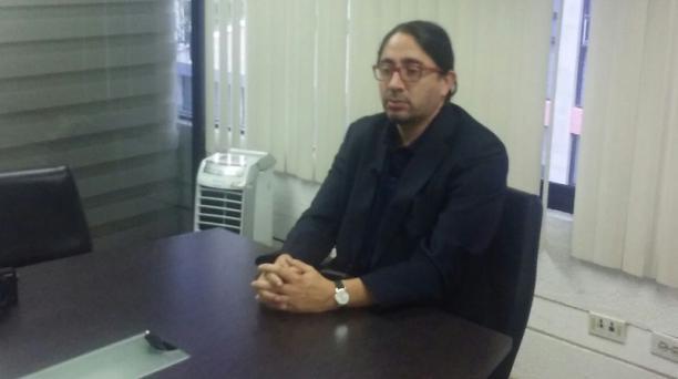 René Ramírez indicó las medidas que adoptará frente a la designación de César Montaño, como rector de la Universidad Andina. Foto: EL COMERCIO