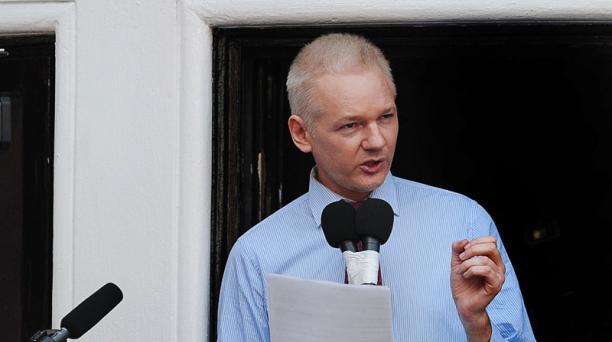 Julian Assange se encuentra confinado desde 2012 en la Embajada de Ecuador en Londres. Foto: Archivo/ AFP