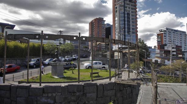 Los activistas proponen que se cree un centro cultural en el mirador de Guápulo. Foto: Archivo EL COMERCIO