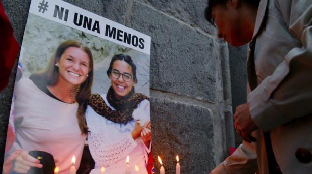 María José Coni y Marina Menegazzo desaparecieron de Montañita el 23 de febrero del 2016. Foto: Diego Pallero / EL COMERCIO