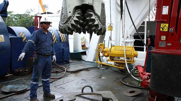 Comenzaron las perforaciones para la extracción de petróleo del campo Tiputini en el ITT. Foto: Cortesía de Petroamazonas