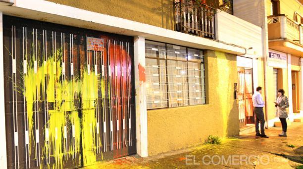Imagen de la vivienda del tuitero Alejandro Muñoz Hidalgo. Foto: Eduardo Terán / EL COMERCIO