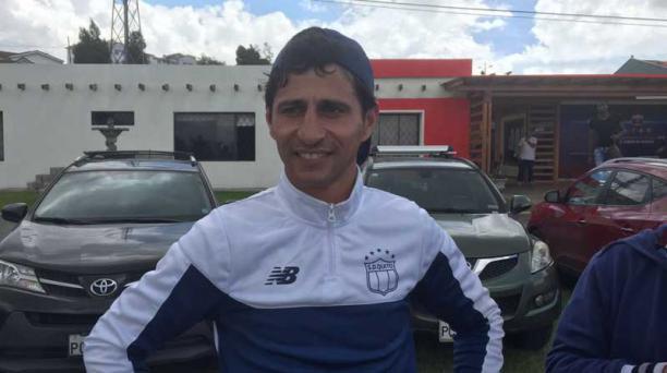 Marcelo Fleitas en el complejo de Deportivo Quito el 6 de mayo del 2016. EL DT deja la dirección técnica del club. Foto: Santiago Ponce/ EL COMERCIO