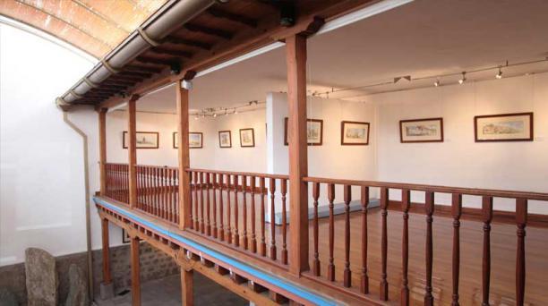 El Museo Oswaldo Muñoz Mariño está ubicado en la calle Junín, en el barrio San Marcos.
