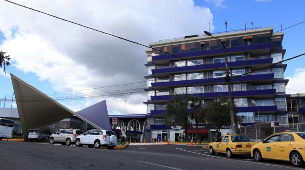 Vista del Hotel Quito, ubicado en la González Suárez y 12 deOctubre, en la capital. Foto: Pavel Calahorrano / EL COMERCIO
