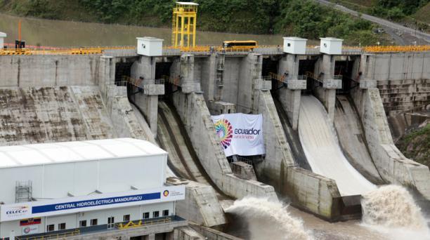El Régimen busca obtener liquidez en este año al concesionar hasta por 20 o 30 años centrales como Sopladora. Foto: EL COMERCIO