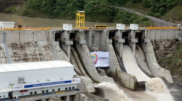 La hidroelectrica Manduriacu fue inaugurada en marzo del 2015. Foto: Paúl Rivas / EL COMERCIO