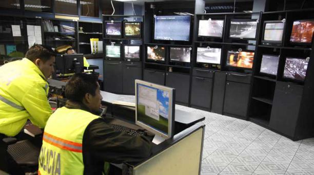 El Sistema Ojos de águila permite realizar vigilancia de la ciudad a través de cámaras. Foto: Archivo / EL COMERCIO