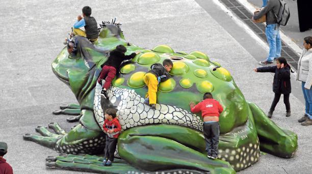El Cumandá es parte de las opciones en vacaciones. Foto: Alfredo Lagla / EL COMERCIO
