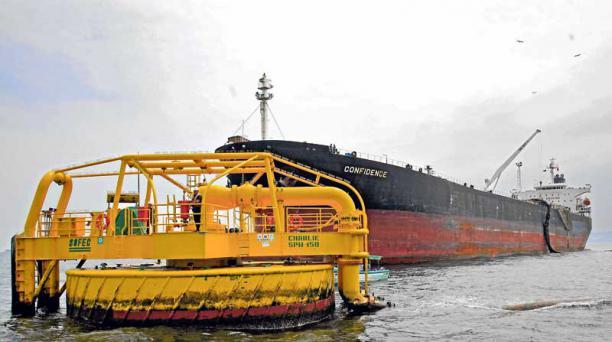 Ecuador exportó 151,7 millones de barriles de petróleo el año pasado, según el Banco Central. Foto: Pavel Calahorrano / EL COMERCIO