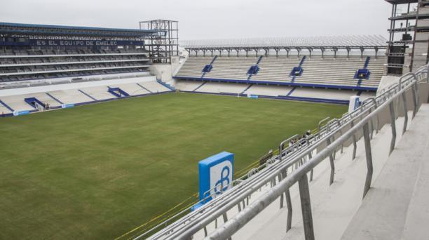 El remodelado estadio George Capwell abrirá sus puertas en la quinta fecha de la segunda etapa. Foto: Wladimir Torres / EL COMERCIO