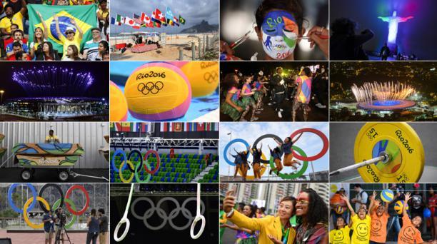 La ceremonia de inauguración de los Juegos Olímpicos de Río 2016 arrancan mañana viernes 5 de agosto a las 18:00. Fotos: Agencias