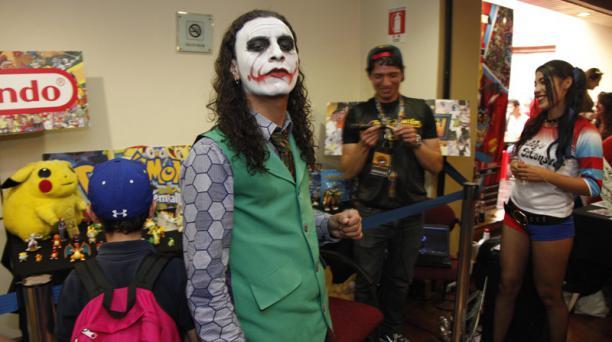 Fanáticos del comic se dieron cita en su festival. Foto: Galo Paguay / EL COMERCIO