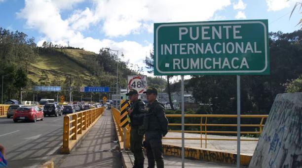 Rumichaca se normaliza. Foto:Francisco Espinoza para EL COMERCIO