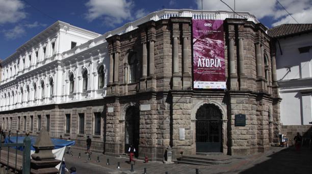 La fachada del Centro Cultural Metropolitano fue el cuartel español.