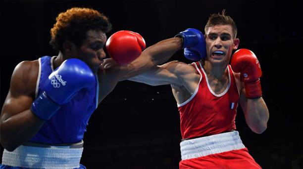 El ecuatoriano Carlos Mina no logró abrirse paso a semifinales. Foto: Captura
