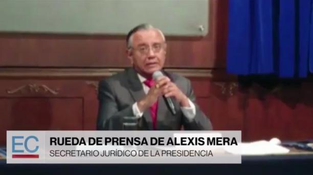 Alexis Mera denunció ante la Fiscalía actos de cohecho en Petroecuador. Captura