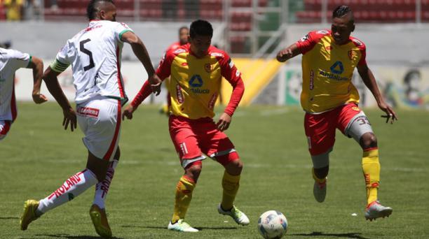 En el estadio Gonzalo Pozo Ripalda, Aucas se enfrenta a Mushuc Runa en la cuarta fecha del Campeonato nacional.