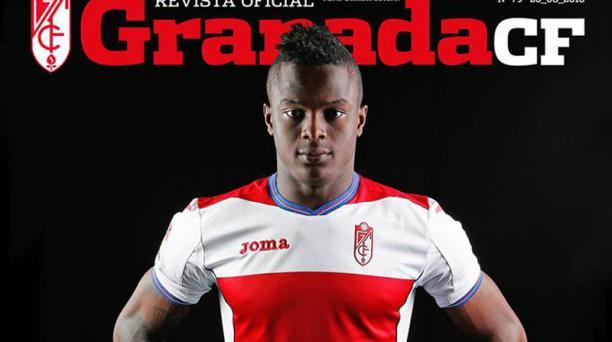 José Angulo. Foto: Tomada de la portada de la revista oficial del Club