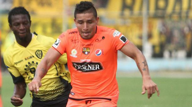 Mario Pineida, de 24 años, acumula 22 partidos jugados en Barcelona en esta temporada. Él no ha jugado un partido oficial con la Selección. Foto: API.