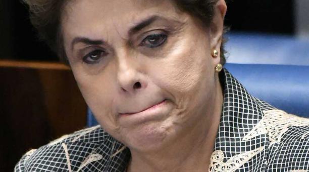 Dilma Rousseff fue destituida después de una votación del Senado de Brasil. Foto: EFE