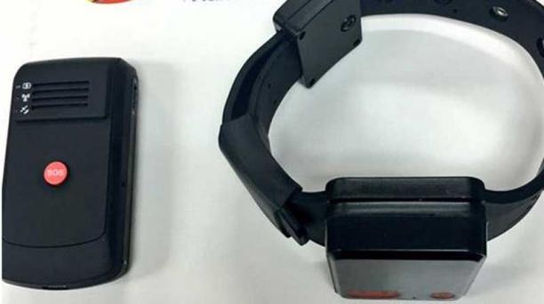 El uso de brazalete electrónico será una de las alternativas para las personas que se encuentran en arresto domiciliario. Foto: Cortesía
