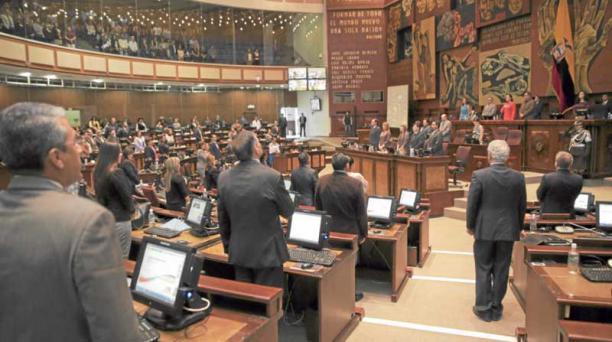 En el actual período legislativo, Alianza País alcanzó una mayoría absoluta: 100 curules. Foto: Flickr de la Asamblea Nacional.