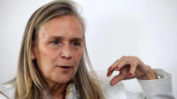 Marianne Van Steen, embajadora de la Unión Europea en Ecuador, llegó hace dos meses al país. Foto: Julio Estrella/ EL COMERCIO