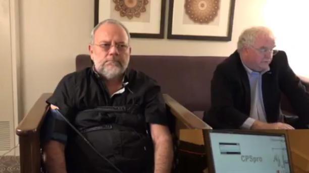 Este 3 de febrero del 2017, Carlos Pareja Yannuzzelli habló en cortos videos, difundidos en redes sociales, sobre el caso de corrupción en Petroecuador y acusa al vicepresidente Jorge Glas. Foto: Captura de pantalla