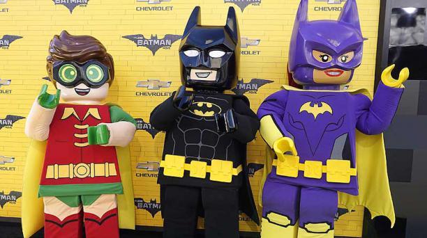 The Lego Batman Movie' se estrenará este fin de semana en Ecuador. Foto: EFE