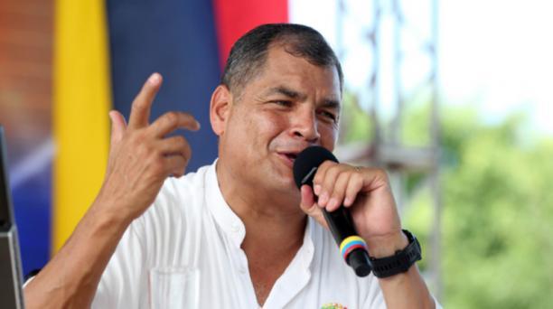 Rafael Correa dijo que durante la reunión que mantendrá con el presidente  colombiano Juan Manuel Santos, le propondrá exportar a su país el arroz ecuatoriano. Foto: Flickr Presidencia