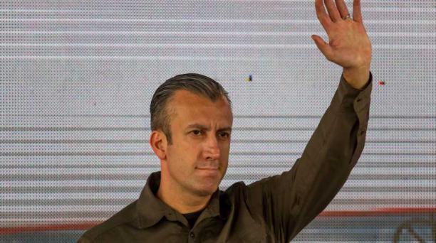 El Gobierno de Estados Unidos impuso, el lunes 13 de febrero de 2017, sanciones económicas al vicepresidente de Venezuela, Tareck El Aissami, según informó el Departamento del Tesoro. Foto: EFE