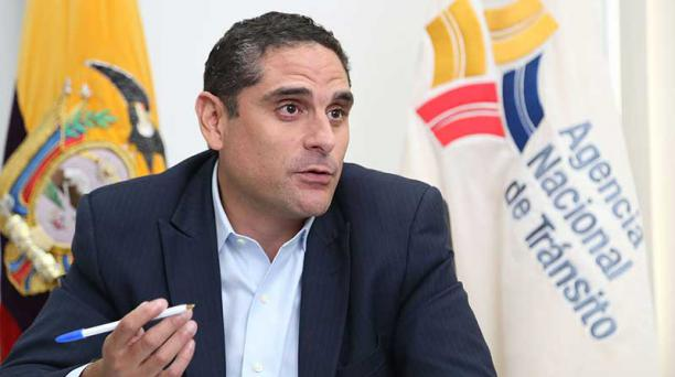 John Hill, director de la Agencia Nacional de Tránsito. Foto: Archivo EL COMERCIO