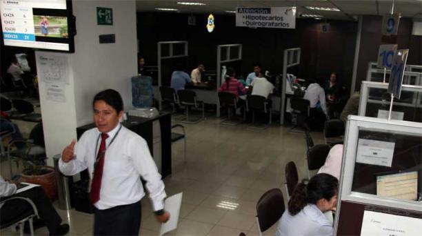 Este año la entidad prevé entregar un total de 27 551 préstamos hipotecarios. Foto: Pavel Calahorrano Archivo / EL COMERCIO