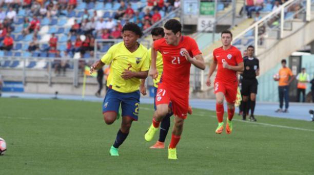 Este 3 de marzo del 2017 la Selección ecuatoriana sub 17 se enfrenta a Chile en el estadio El Teniente de Rancagua