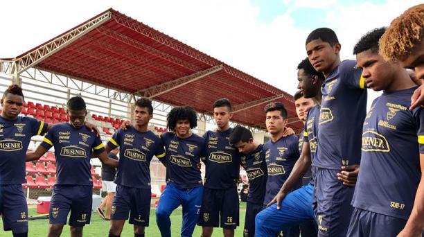 La Selección ecuatoriana Sub 17 juega el Hexagonal final del Sudamericano Sub 17 en Chile