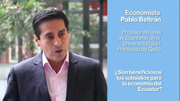 Video entrevista economista Pablo Beltrán