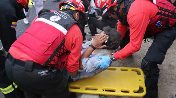 El 7 de marzo, un bus se accidentó cerca a Quito y dejó 12 muertos y 25 heridos. Foto: Archivo/EL COMERCIO