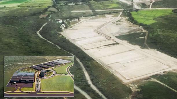 El complejo farmacéutico de la empresa Enfarma no se concretó en la zona de Yachay, en el cantón Urcuquí. Foto: Archivo EL COMERCIO
