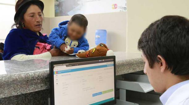 Uno de los enfoques de la política del gobierno fue el fortalecimiento de la salud. Foto: Flickr / Ministerio de Salud Pública del Ecuador