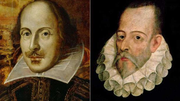 Comedia. Shakespeare, autor trágico por antonomasia, cuenta con comedias como 'La fierecilla domada'. Teatro. Planeta recopiló en 990 paginas toda la obra teatral de Cervantes. Fotos: Wikimedia y Wikicommons