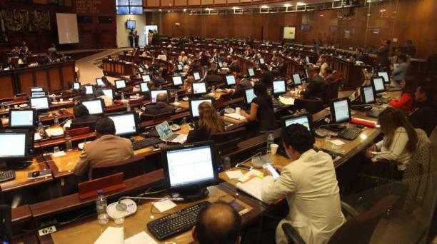 Las reformas a la LOC no están entre las prioridades de la Asamblea. Hay cinco proyectos en trámite. Foto: Pavel Calahorrano  / EL COMERCIO