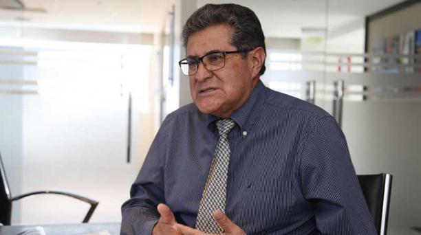 Ojeda fue Presidente Ejecutivo y Gerente de Electronic Amusement S.A-EASA. Foto: Galo Paguay / EL COMERCIO
