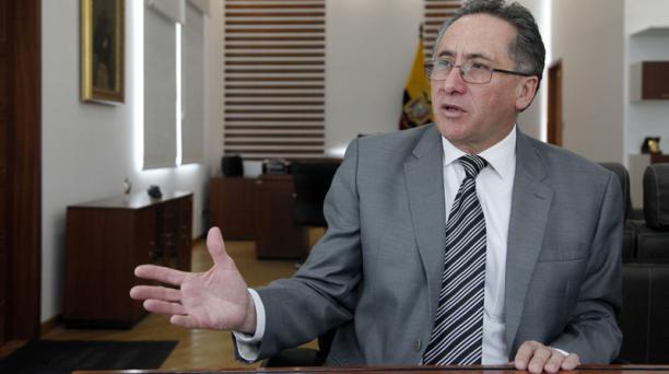 Miguel Carvajal, quien en la actualidad se desempeña como ministro de Defensa, será el encargado de la Secretaría de Gestión de la Política. Foto: Archivo/ EL COMERCIO