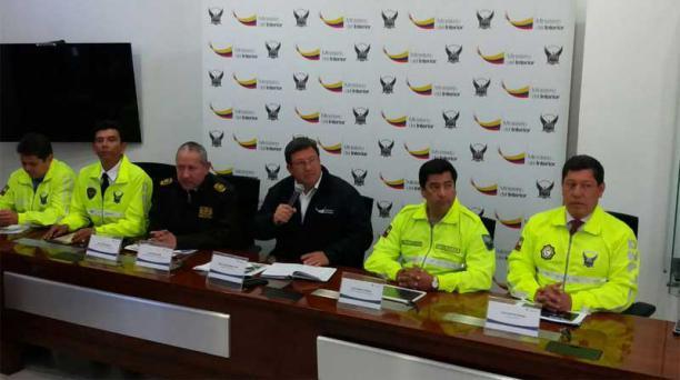 Se activaron bloques de búsqueda para Ramiro González y Walter Solís. Foto: Tomada del Twitter del Ministerio del Interior