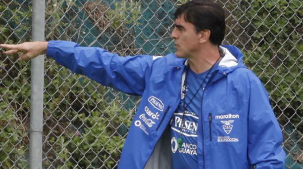 Imagen referencial de Gustavo Quinteros, DT de la Selección de Ecuador. Foto: Archivo EL COMERCIO