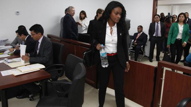 La fiscal Diana Salazar investiga una supuesta trama de corrupción en Ecuador relacionada con Odebrecht. Foto: Galo Paguay/ EL COMERCIO