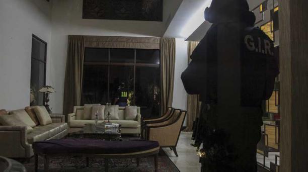 La casa de Carlos Pareja, en Samborondón, está incautada desde hace un año. Foto: Archivo Enrique Pesantes / EL COMERCIO