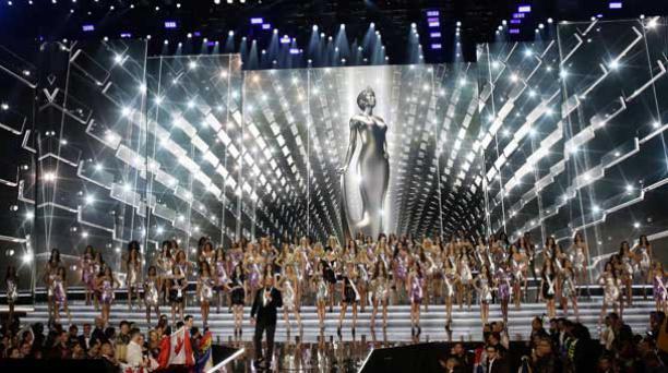 Representantes de 92 países participan este 26 de noviembre de 2017 en la gala del Miss Universo. Foto: AFP.